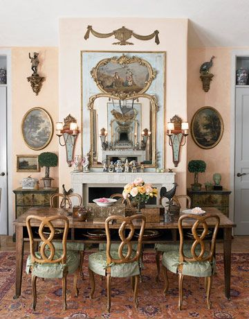 house beautiful sept interview mediterranean style home with a well worn patina country dining roomscountry - House Beautiful Dining Rooms