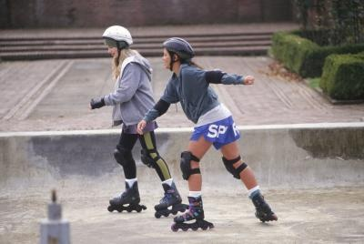 Learn how to roller blade