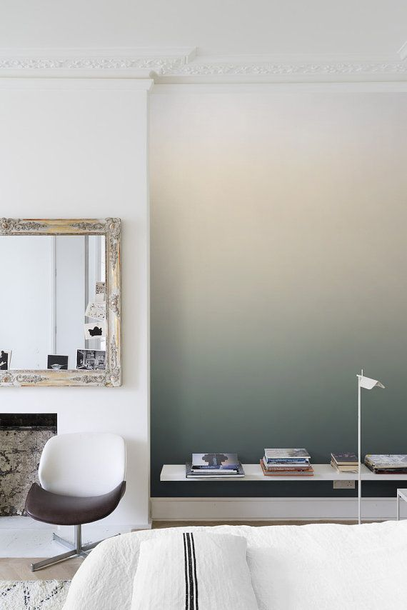 How To Paint An Eye Catching Ombre Wall More Color Walls