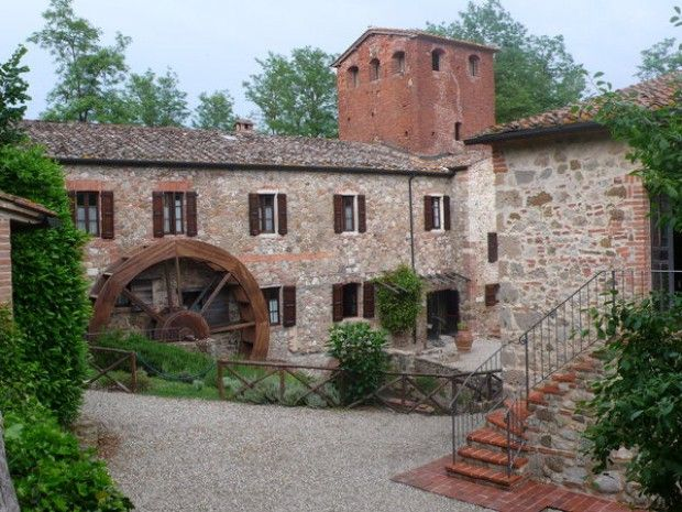 Il Mulino Bianco -   Località il Mulino delle Pile _ Chiusdino (Siena)