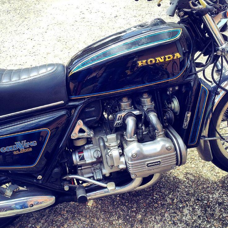 My#honda #goldwing #black #passion #love #vintage #lifestyle#motorcycle
