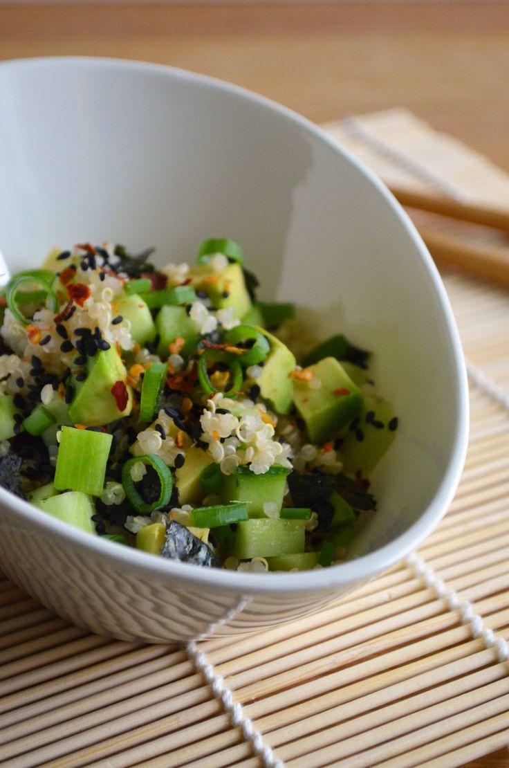 Best 25+ Quinoa sushi ideas on Pinterest   Veggie sushi ...