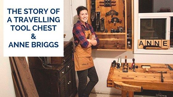 Great story about how one women created a community and helped expose woodworkers to excellent hand tools.