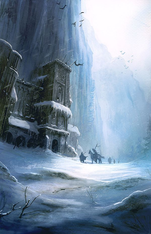 Castle Black in Game of Thrones