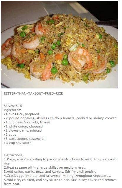 Better Than Take~Out Fried Rice...
