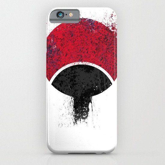 Sasuke Uchiha Naruto - Uchiha Logo iphone case, smartphone - Balicase