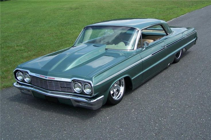 1964 CHEVROLET IMPALA CUSTOM - Barrett-Jackson Auction Company - World's Greatest Collector Car Auctions