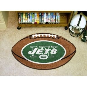 NFL - New York Jets Football Rug