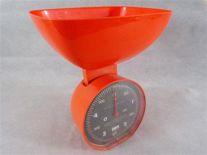 balance de cuisine vintage orange de marque japy cuisine vintage france vintagefr annes 70 de la - Modele De Cuisine A Vendre Annee 50