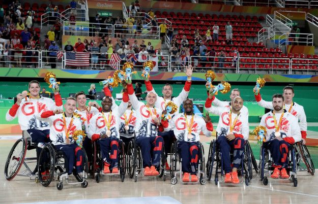 Men's wheelchair basketball team: Bronze