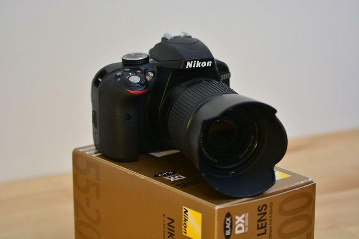 222€. 12/11/2017. Quedan 4 dí a s de puja. Nikon D d3300 24.2 mp SLR-cámara digital + NIKKOR AF-S 55-200mm f4-5, 6 g ed DX   Foto & Camcorder, Digitalkameras   eBay!