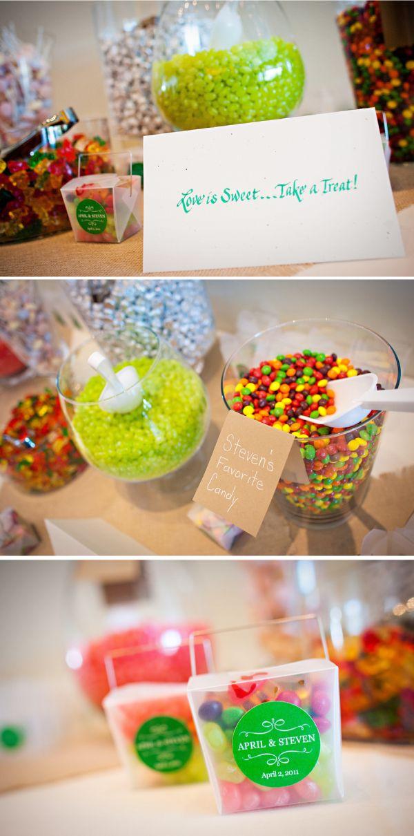 awesome wedding favor idea