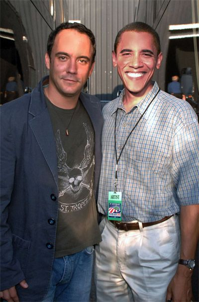 Dave and Barack - Awesome