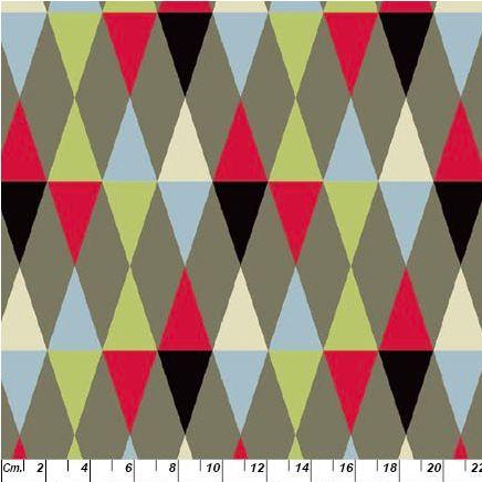 Copenhagen Print Factory. Harlequin oko-tex certified. Soepele katoen. Scandinavian fabric.