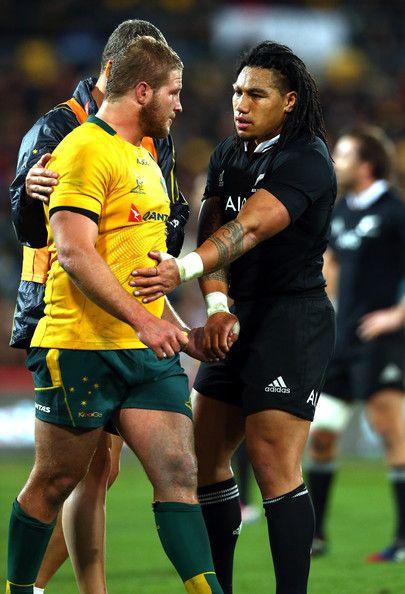 James Slipper | Ma'a Nonu | New Zealand v Australia | The Rugby Championship | Bledisloe Cup 2014