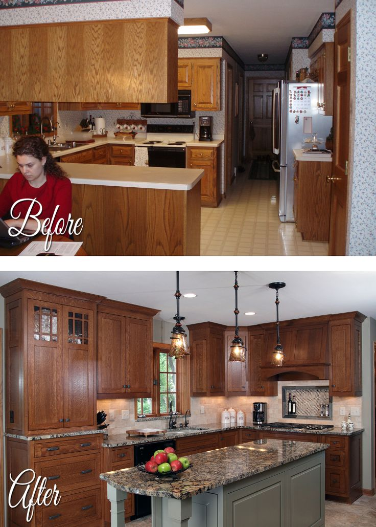 National Home Improvement Month Before/After #6   Kitchen Remodel
