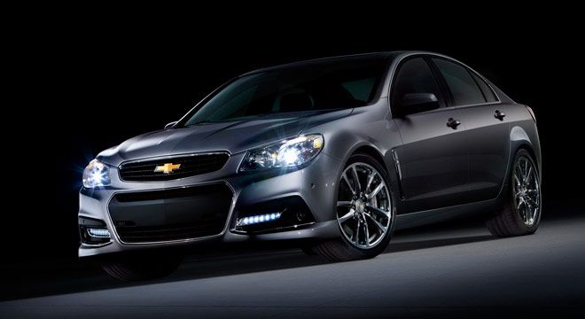 Chevrolet SS 2013 : RWD Bertenaga 415 HP #BosMobil