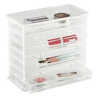 This Is The Jewelry Or Makeup Storage Youu0027ve Been Dreaming About. Youu0027ll  Love The Way The Crystal Clear Acrylic Drawers Keep Contents Visible And  Organized ...