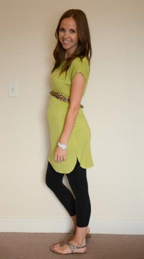 Tulip Hem Maternity Tunic Tutorial                                                                                                                                                                                 More