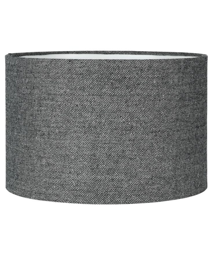 30cm £10 Buy Collection Larkhall Textured Shade - Black and Grey at Argos.co.uk - Your Online Shop for Lamp shades.