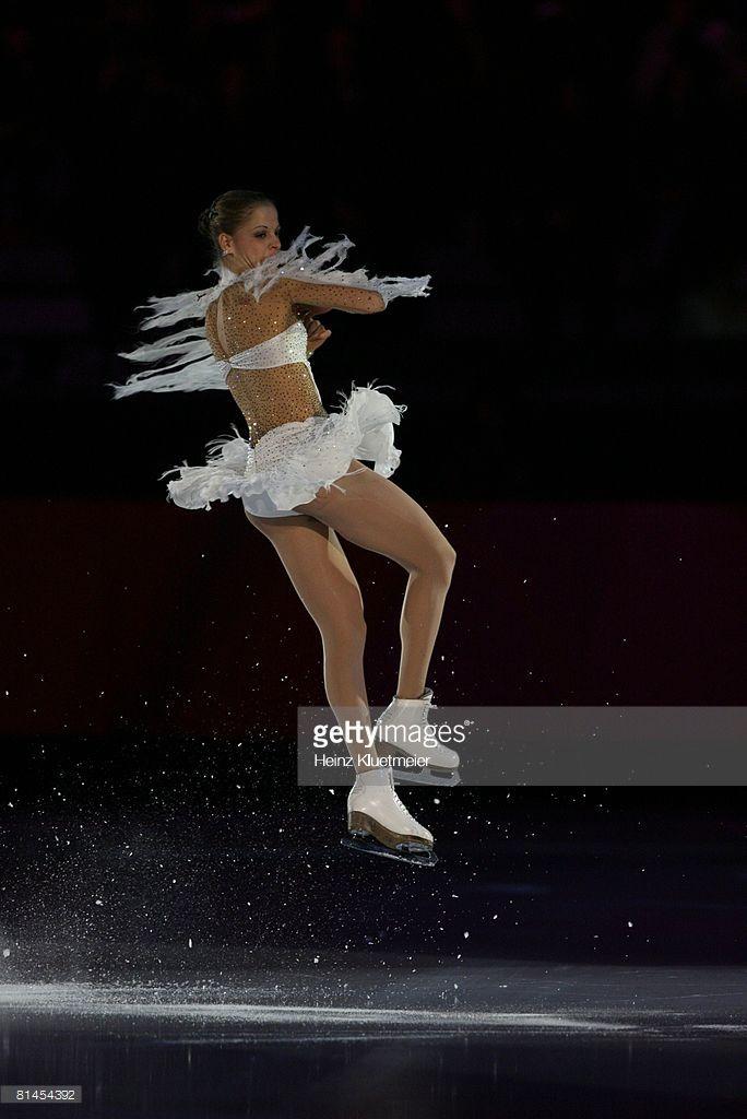 2006 Winter Olympics, Italy Carolina Kostner in action during Exhibition Gala at Palavela, Turin, Italy 2/24/2006