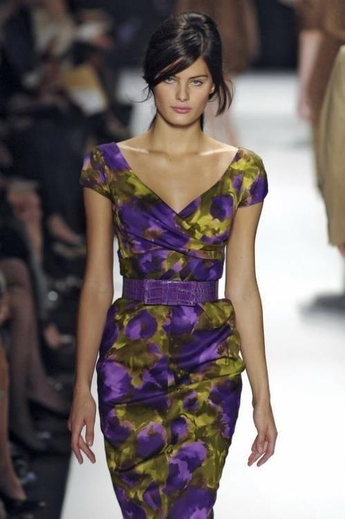 Elegant floral dress!