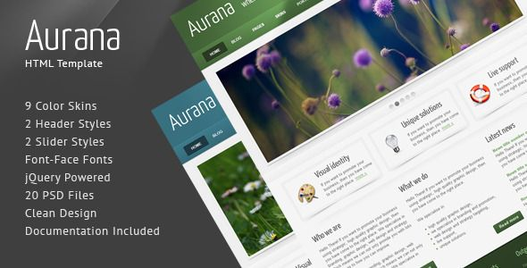 Review Aurana - Clean HTML Templateyou will get best price offer lowest prices or diccount coupone