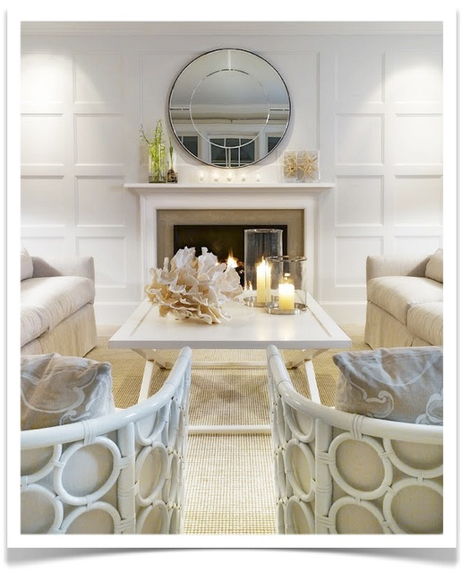LOVE the floor to ceiling wainscoting. I want to use this idea for behind the bed in the master bedroom.