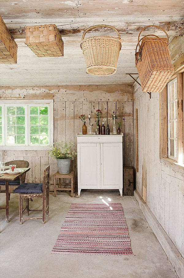 Simple Swedish decor...