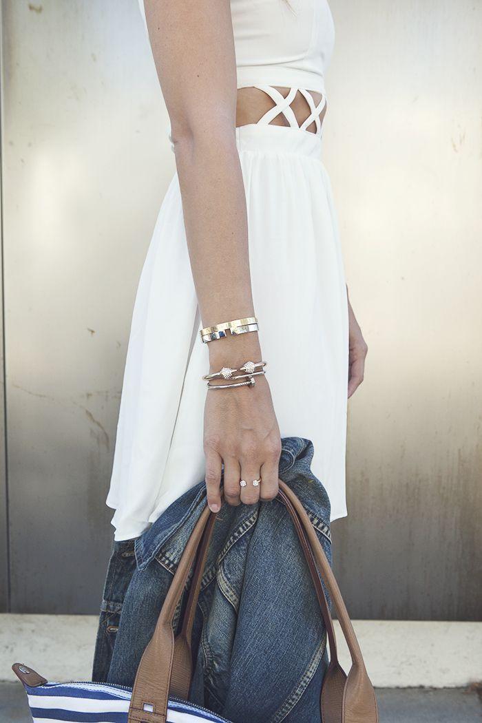 bracelet clou pas cher