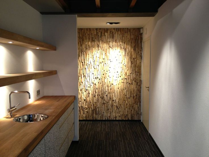 Mer enn 25 Bra ideer om Wandverkleidung Holz Innen på Pinterest - holzverkleidung innen modern