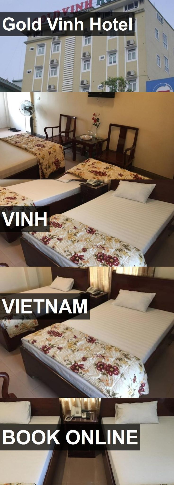 Gold Vinh Hotel in Vinh, Vietnam. For more information, photos, reviews and best prices please follow the link. #Vietnam #Vinh #travel #vacation #hotel