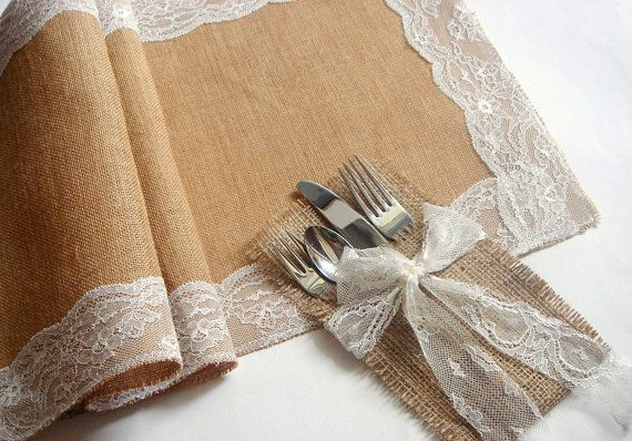 Burlap Wedding Table Runner Eco friendly Burlap by accessory8