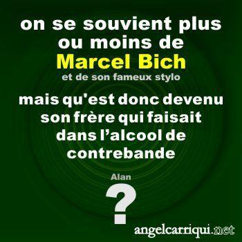 familles célèbres : Marcel Bich?