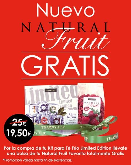 Promoción Limited Edition + Natural Fruit