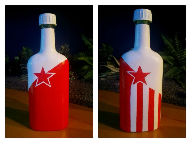 Red Star Bottle
