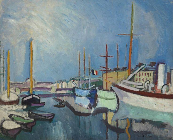 Raoul Dufy (France 1877-1953)  Le Port du Havre (1905-1906)  oil on canvas