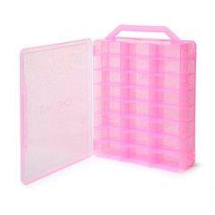 Chroma Gel Pink Nail Polish Case Holder | Beauty Hair Products Ltd