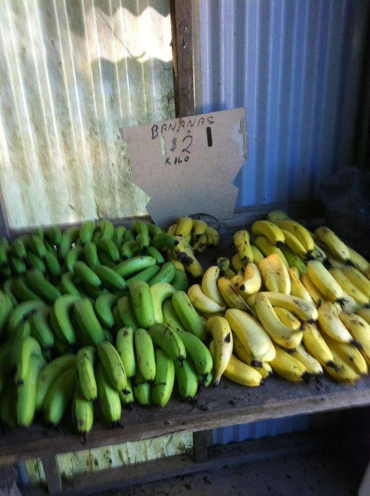 Green banana yellow banana