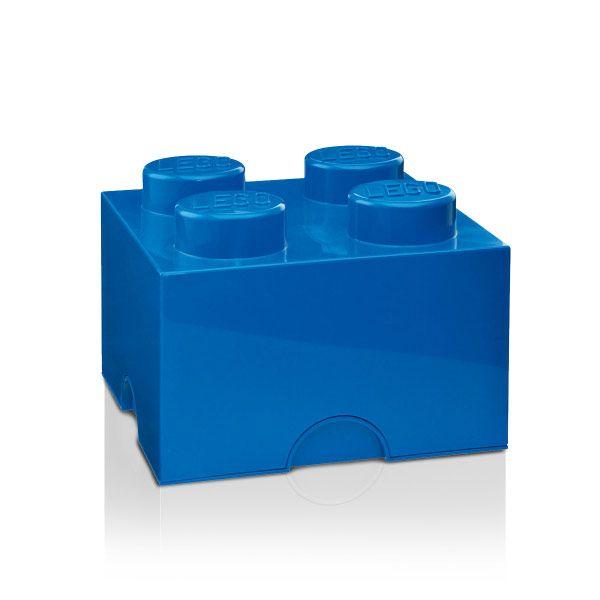 Lego Förvaringslåda 4, Blå, Room Copenhagen