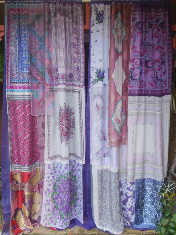 VIOLETTA Bohemian Gypsy Curtains by BabylonSisters on Etsy