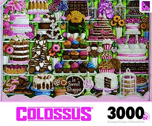 The Canadian Group Colossus Sweet Shoppe Puzzle Collection (3000 Piece)