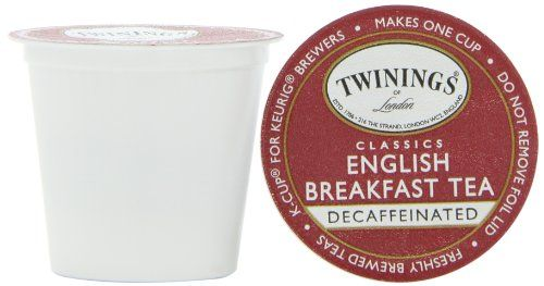 Twinings English Breakfast Decaffeinated Tea, K-Cup Portion Pack for Keurig K-Cup Brewers, 24-Count - http://teacoffeestore.com/twinings-english-breakfast-decaffeinated-tea-k-cup-portion-pack-for-keurig-k-cup-brewers-24-count-2/