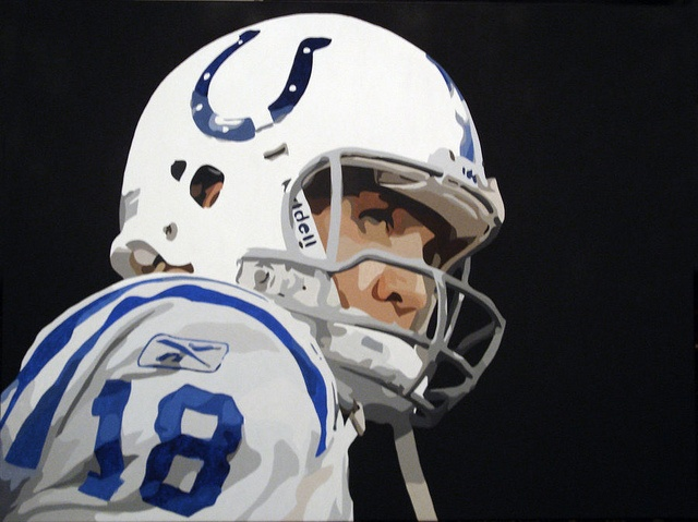 Peyton Manning by Eric Young.