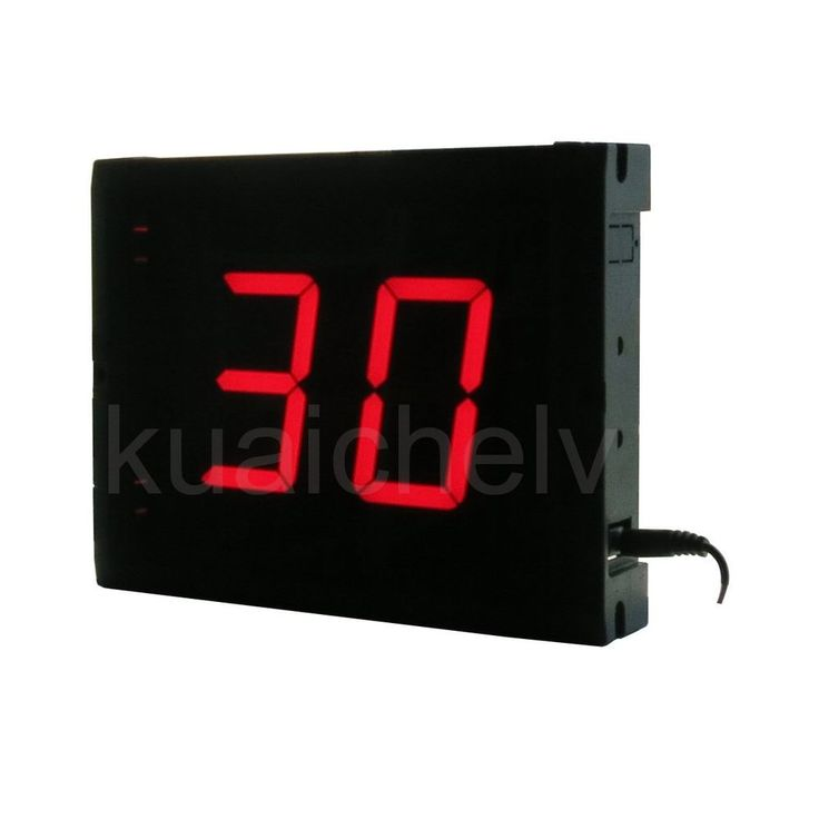 """LED Days Countdown Timer 3"""" High Character 99 Days Countdown/up Counter #DLC"""