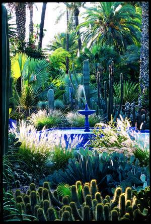 Yves Saint Laurents Garden   domino.com