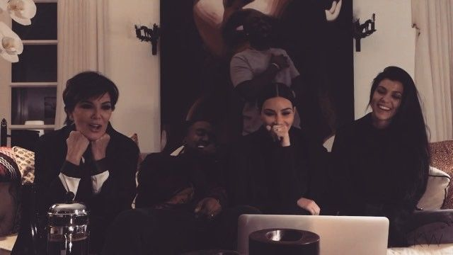Pin for Later: We Bet You've Never Seen Kanye West Laugh Like This Before
