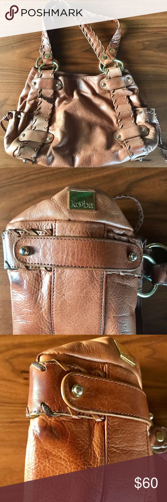 Kooba Sienna Pebbled Leather Kooba Sienna in Pebbled Leather with original dust bag - slight wear and tear Kooba Bags Shoulder Bags