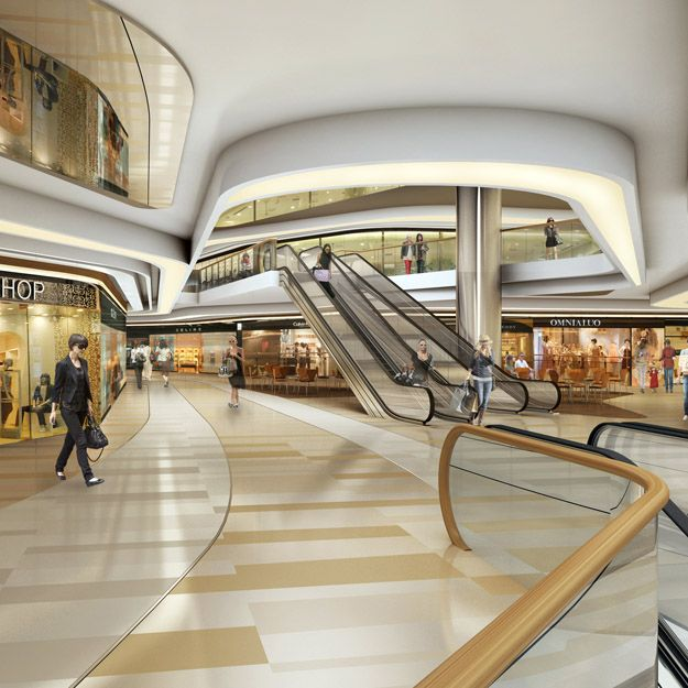 Retail Shopping Mall Interior Design Hospital Design