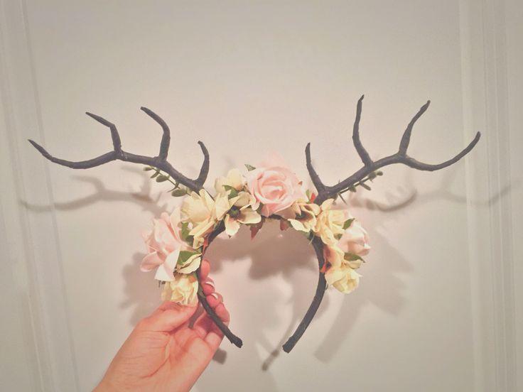 DIY Antler Headband